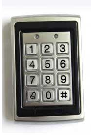 Keypad for PIN Code Entry