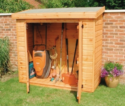Tidy Shed For Child Safety