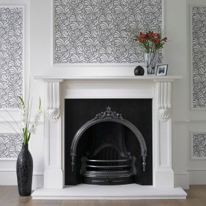 Create a statement home with a feature wall uk home Fireplace feature wall colour
