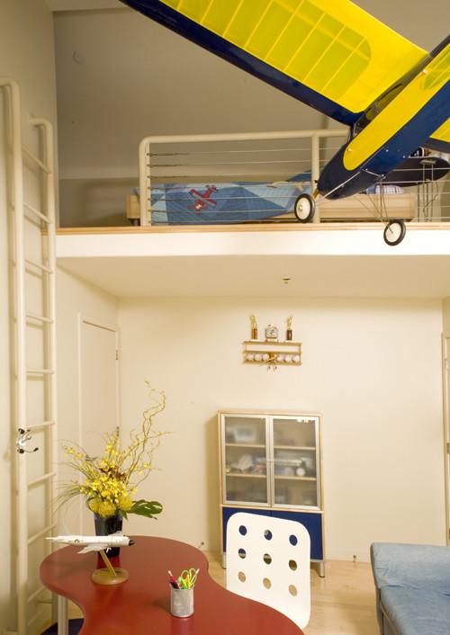 seven innovative design ideas for loft beds uk home. Black Bedroom Furniture Sets. Home Design Ideas