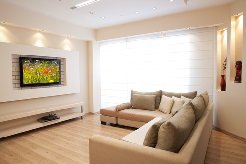 This Is An Excellent Idea Because It Means Everyone Can See The Screen Wherever They Are Sat Ideally Install TV On A Feature Wall And Hide Wires