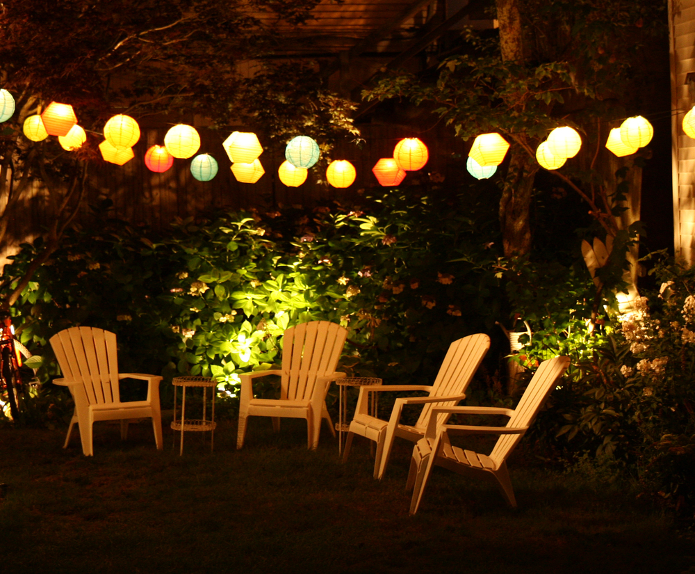 light your summer night outdoor lighting solutions uk home