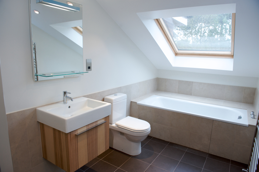 Using your loft conversion as a bathroom for Bathroom ideas loft conversion
