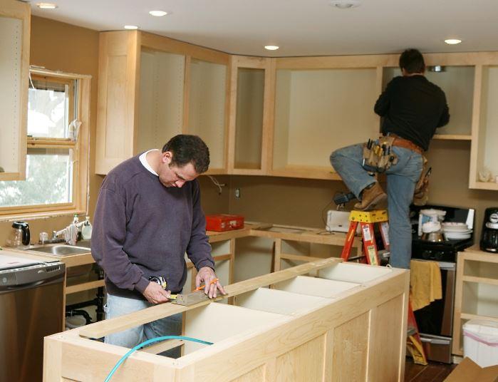 Kitchen Cabinet Refurbishment