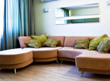 Clean sofa