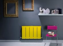 bisque blok coloured radiator