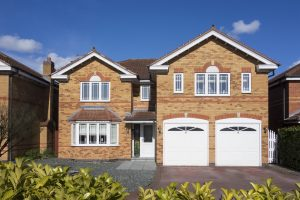 Zap Garage Doors - UK home with double garage doors