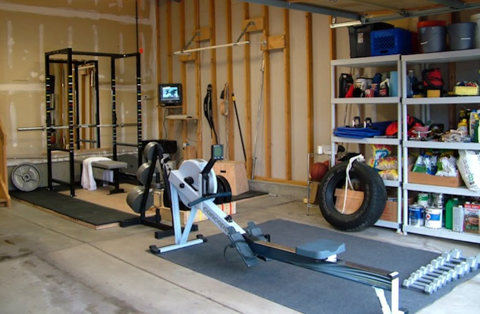 Garage turned into gym anotherhackedlife